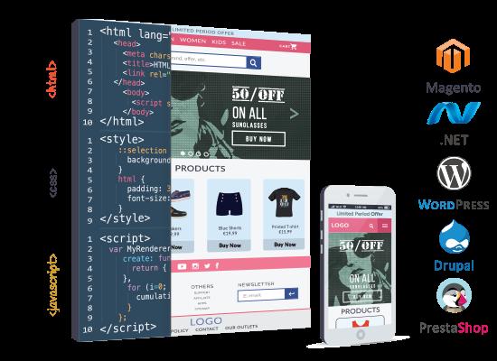 boostsales webstore development
